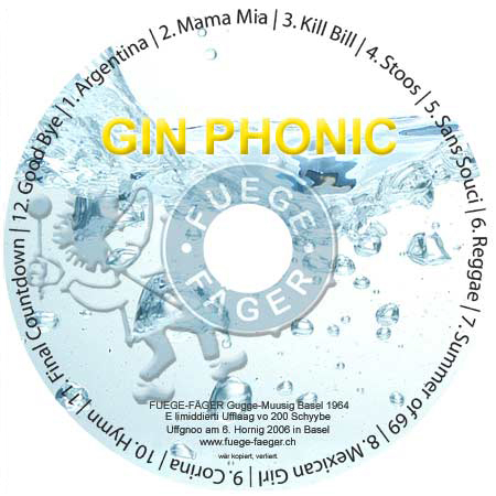Fuege-Fäger CD Gin Phonic